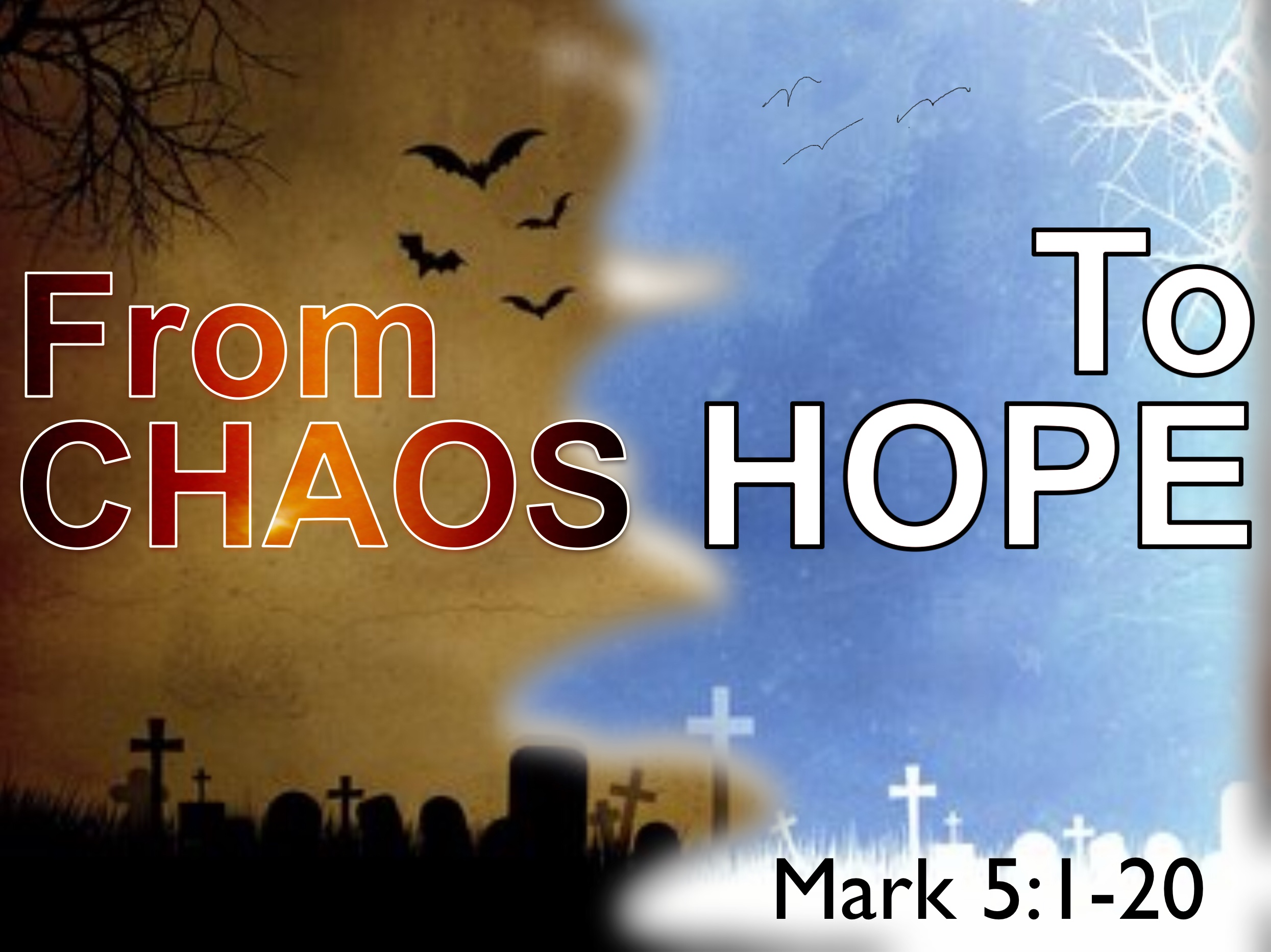 Find hope here at Cold Spring Church