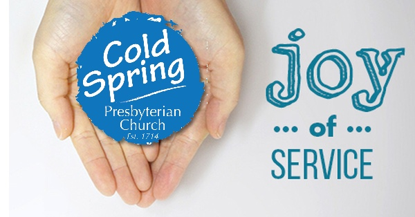 Cold Spring Church serves in joy.